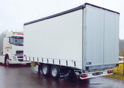LKW Anhängerbau mit Alu-Koffer von Grimm und Partner Fahrzeugbau