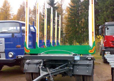 LKW Anhänger im Spezialaufbau von Grimm und Partner Fahrzeugbau