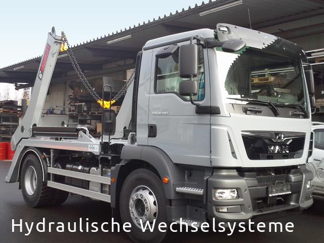 Hydraulisches Wechselsystem von Grimm und Partner Fahrzeugbau Suhl