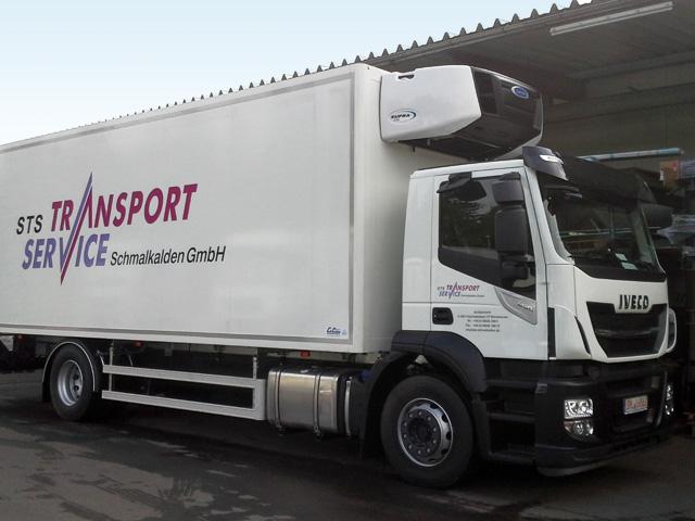 LKW Kofferaufbau mit Iso-Koffer von Grimm und Partner Fahrzeugbau