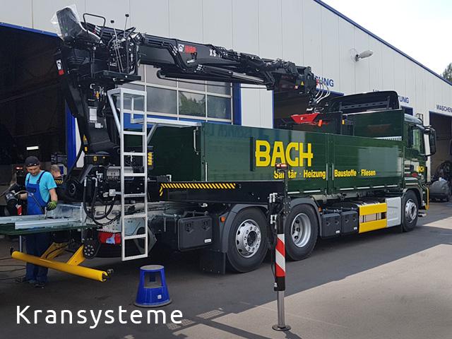 LKW Kranaufbau von Grimm und Partner Fahrzeugbau Suhl