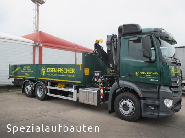 LKW Spezialaufbauten von Grimm und Partner Fahrzeugbau Suhl