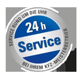 24 Stunden Service bei Ihrem KFW Meisterbetrieb