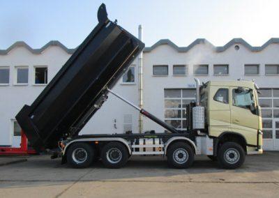 LKW Wechselsystem mit Hydraulikanlage von Grimm und Partner Fahrzeugbau
